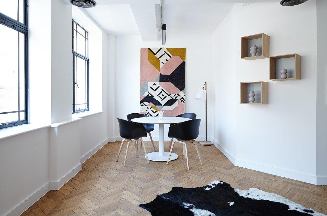 bijela boja u sobi ideje