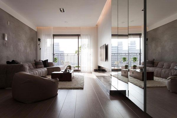 11 zapovijedi kod uređenja apartmana za iznajmljivanje - ogledala