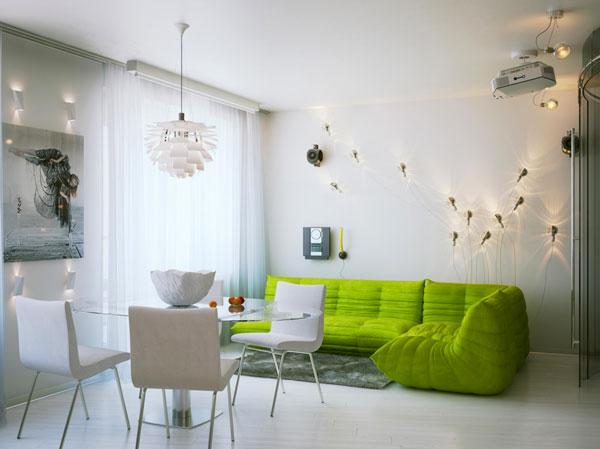 11 zapovijedi kod uređenja apartmana za iznajmljivanje - svjetlo