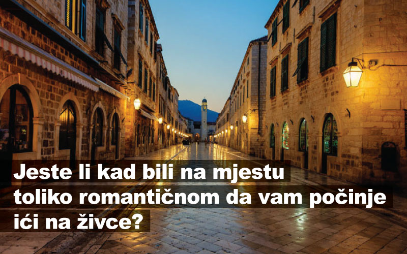 Jeste li kad bili na mjestu toliko romantičnom da vam počinje ići na živce?