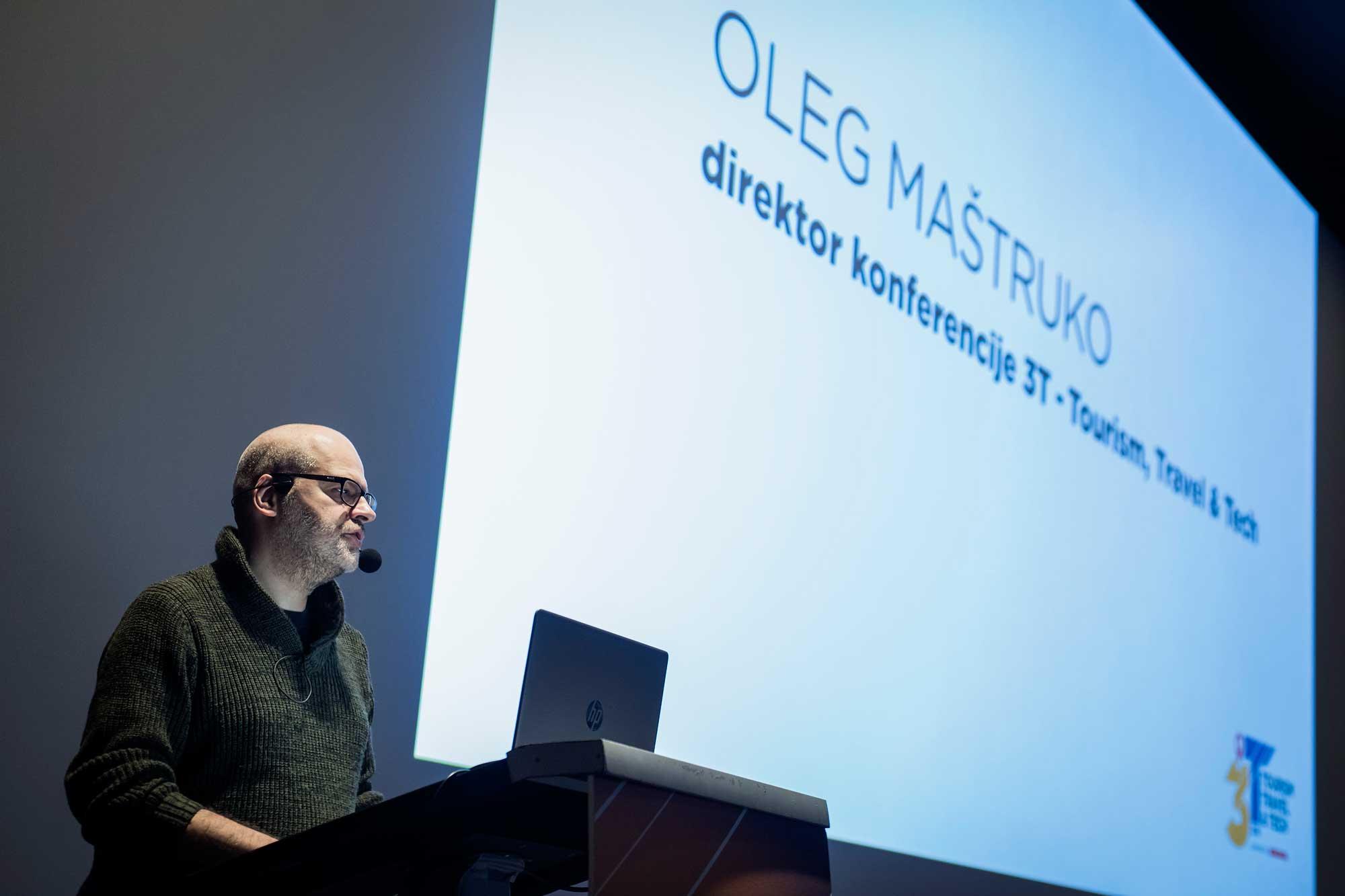3T – Tourism, Travel & Tech konferencija - Oleg Maštruko