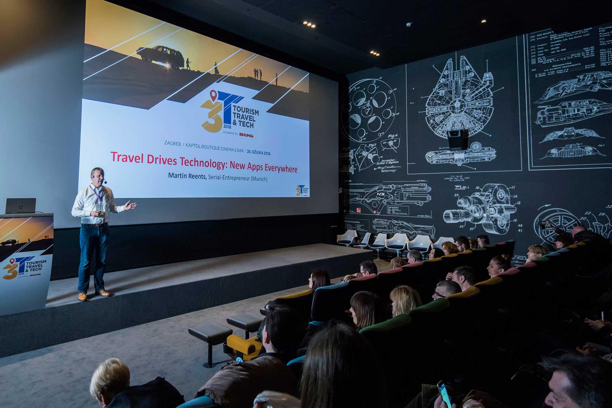3T Tourism, Travel & Tech konferencija - Martin Reents
