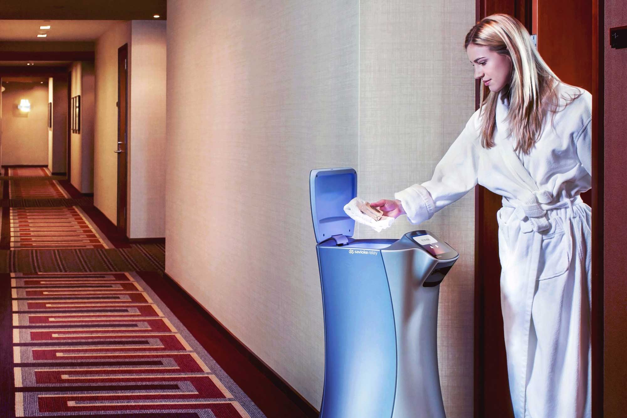 Amenities - robotska posluga u hotelu