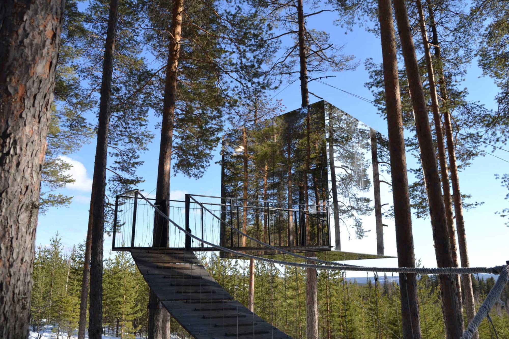 Veličina (ni)je bitna - Najmanji apartmani i kuće za odmor na svijetu Treehotel Švedska