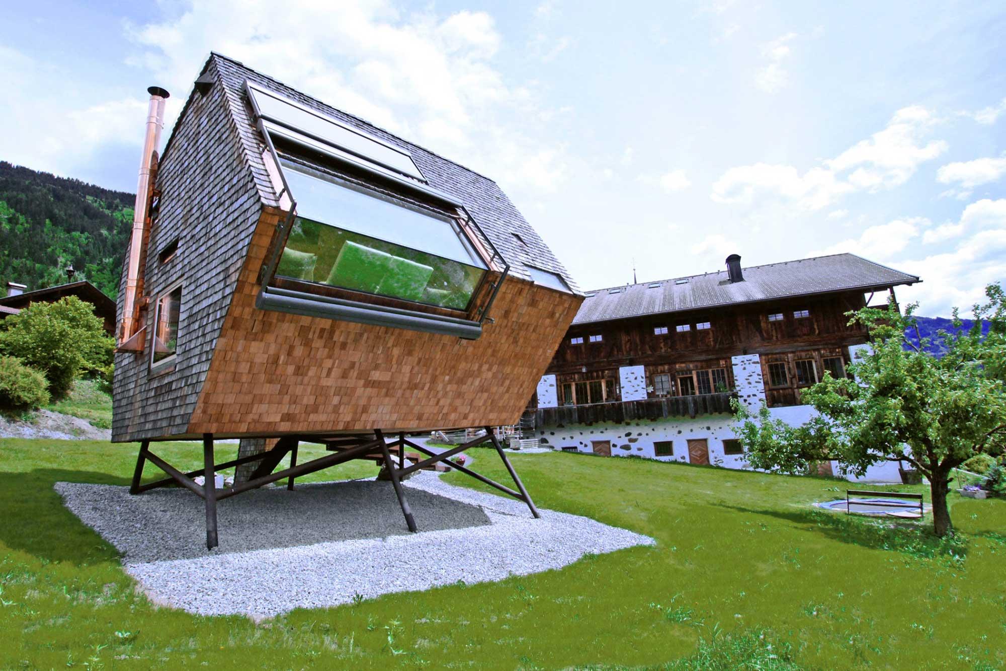 Veličina (ni)je bitna - Najmanji apartmani i kuće za odmor na svijetu Ufogel Austrija