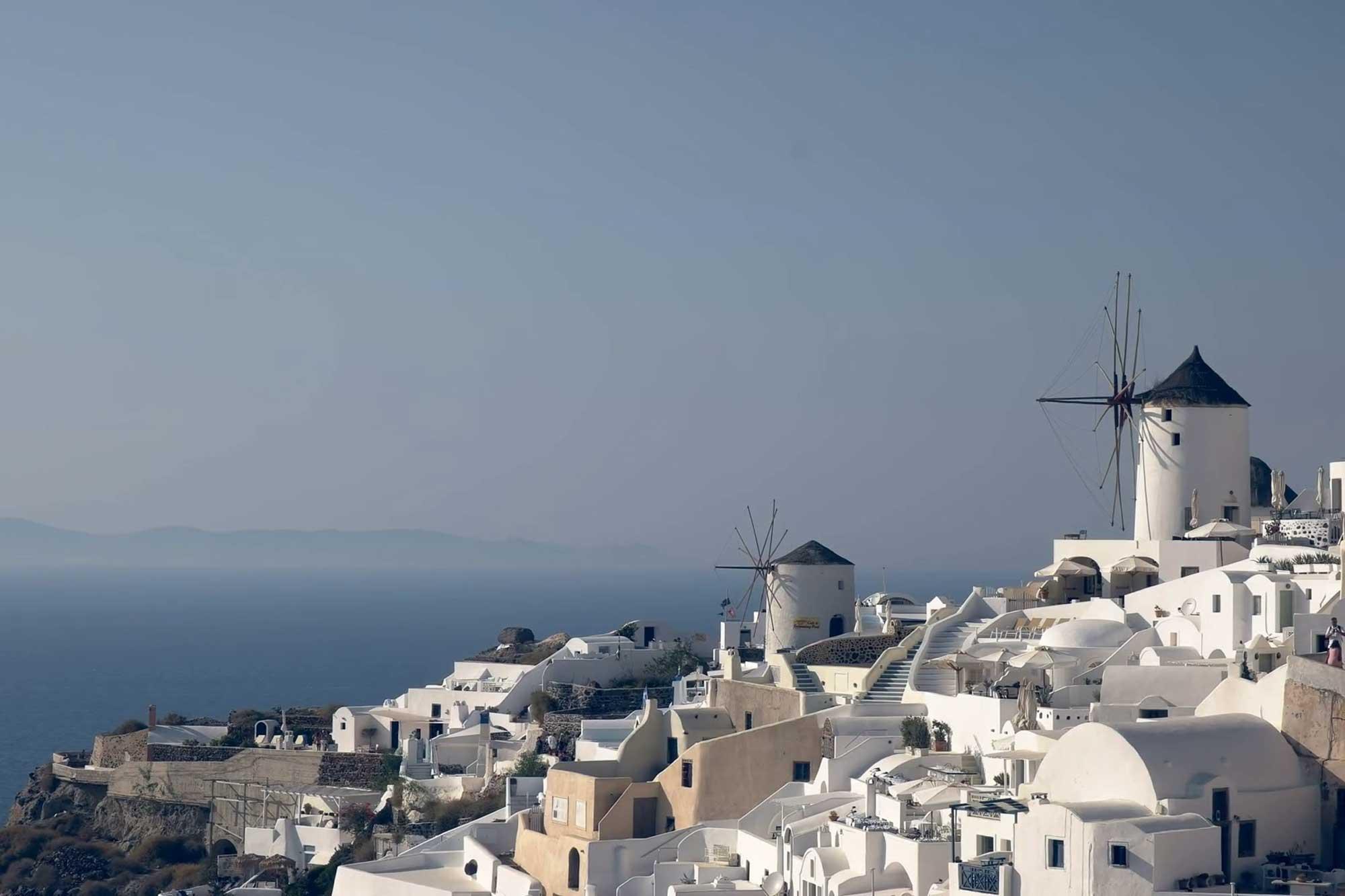 Veličina (ni)je bitna - Najmanji apartmani i kuće za odmor na svijetu Windmills villa Santorini