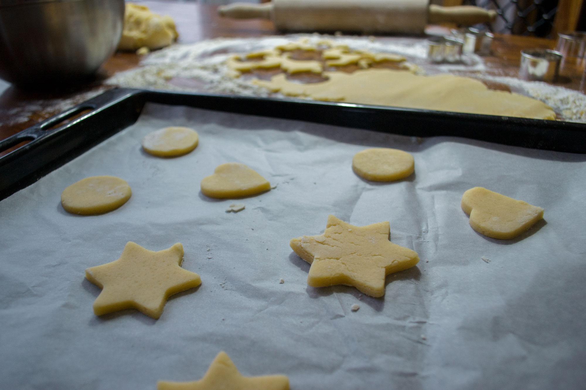Domaći kolač s orasima - jednostavan recept - oblikovanje