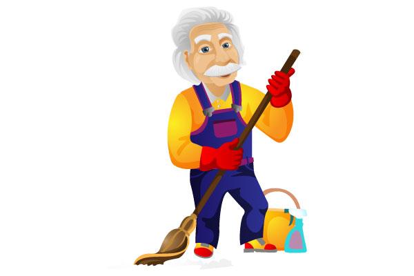 Što sve jedan iznajmljivač mora znati i koje vještine posjedovati - čistač