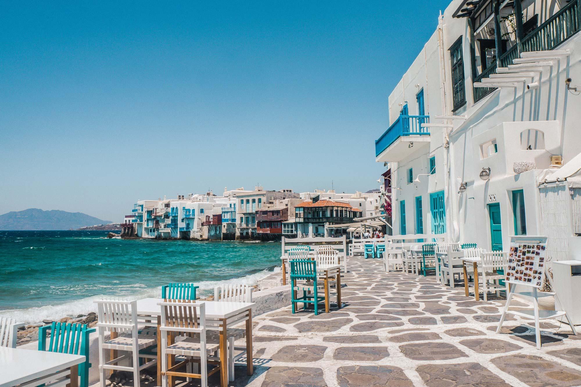 Mikonos u Grčkoj