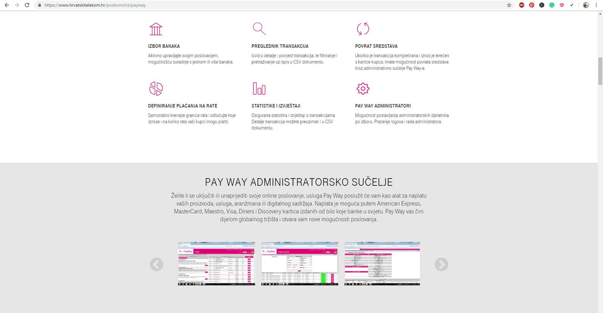 Online plaćanje smještaja: Top 5 payment gateway sistema u Hrvatskoj PayWay