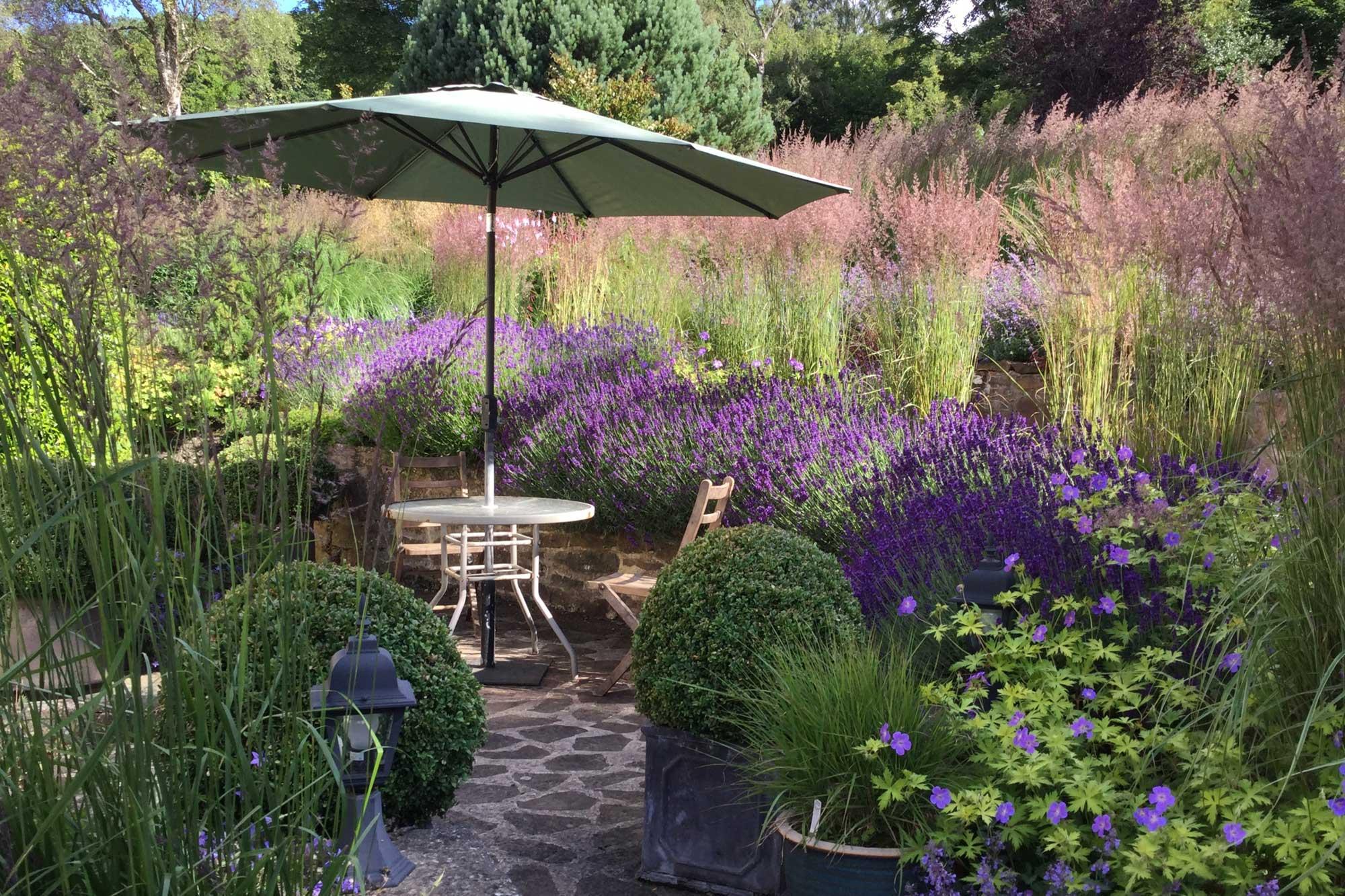 Planiranje vrta: Priprema za proljetno uređenje okućnice smještajnog objekta - lavanda