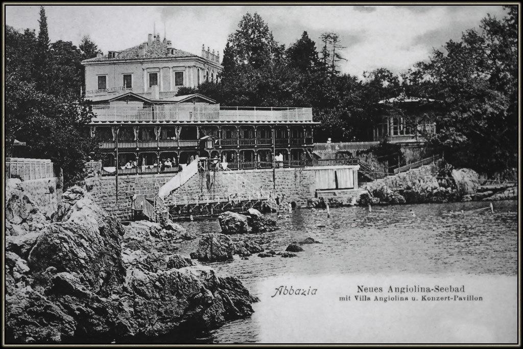 Povijest turizma u Hrvatskoj Villa Angiolina
