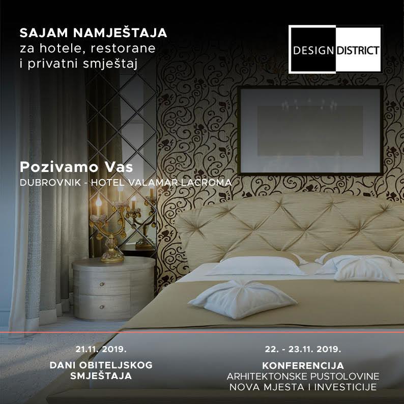 Pozivnica za Design District u Dubrovniku