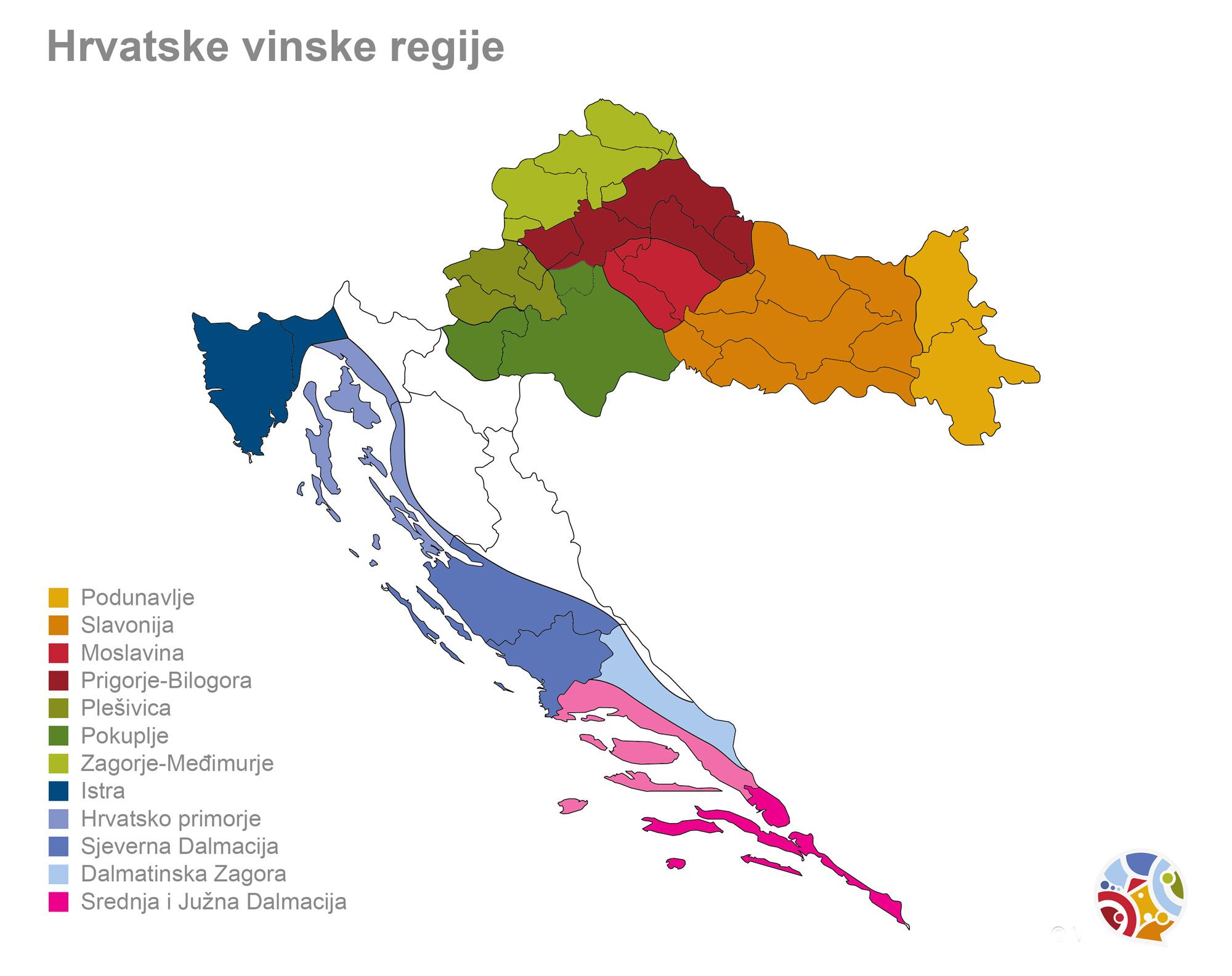 Vinski turizam u Hrvatskoj vinske regije
